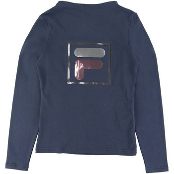 textil Niña Camisetas manga larga Fila - T-shirt blu 688102-170 BLU