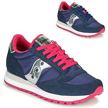 Zapatos Mujer Zapatillas bajas Saucony JAZZ ORIGINAL Azul / Rosa