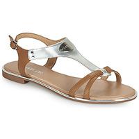 Zapatos Mujer Sandalias Adige ANNABELLE V4 SPECCHIO SILVER Plata