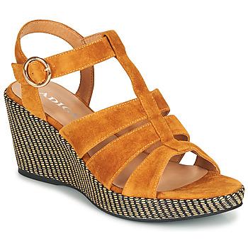 Zapatos Mujer Sandalias Adige FLORY V4 UNDER SAFRAN Amarillo