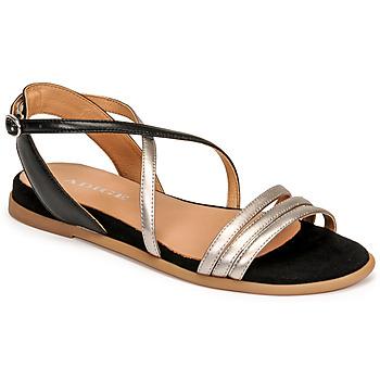 Zapatos Mujer Sandalias Adige IDIL V2 CENTURY ACERO Plata