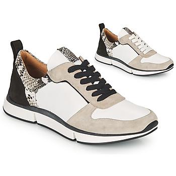 Zapatos Mujer Sandalias Adige VANILLE V5 PYTHON ICE Blanco
