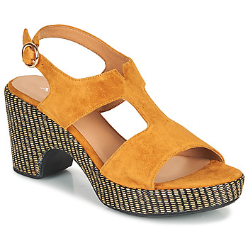 Zapatos Mujer Sandalias Adige ROMA V7 UNER SAFRAN Marrón