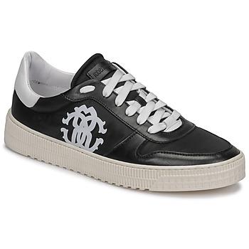 Zapatos Hombre Zapatillas bajas Roberto Cavalli GEL Negro
