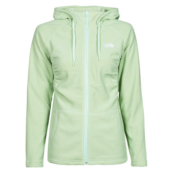 textil Mujer Polaire The North Face W MEZZALUNA  FULL ZIP  HOODIE Verde