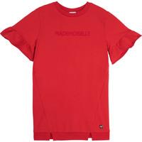 textil Niña Vestidos cortos Carrément Beau Y12234-992 Rojo