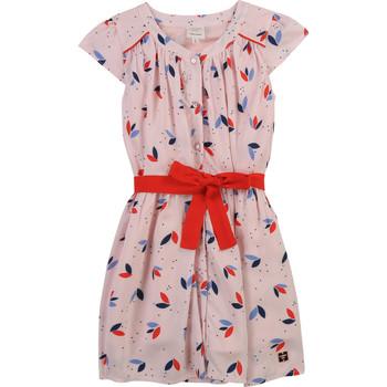 textil Niña Vestidos cortos Carrément Beau Y12246-44L Rosa