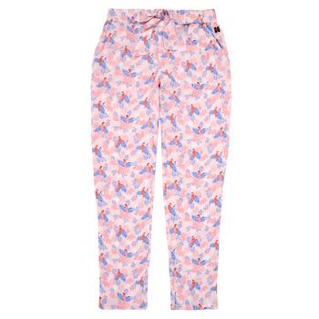 textil Niña Pantalones fluidos Carrément Beau Y14187-44L Rosa
