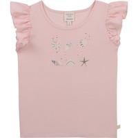 textil Niña Camisetas manga corta Carrément Beau Y15378-44L Rosa