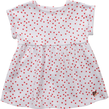 textil Niña Vestidos cortos Carrément Beau Y92119-10B Blanco