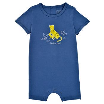textil Niño Monos / Petos Carrément Beau Y94205-827 Azul