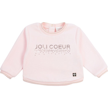textil Niña Sudaderas Carrément Beau Y95254-44L Rosa