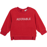 textil Niña Sudaderas Carrément Beau Y95256-992 Rojo