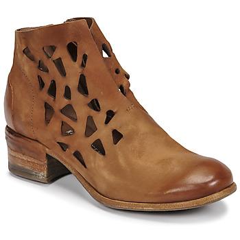 Zapatos Mujer Botas de caña baja Airstep / A.S.98 GIVE PERF Camel