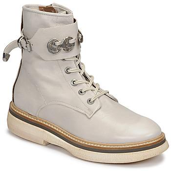 Zapatos Mujer Botas de caña baja Airstep / A.S.98 IDLE Blanco