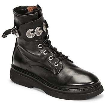 Zapatos Mujer Botas de caña baja Airstep / A.S.98 IDLE Negro