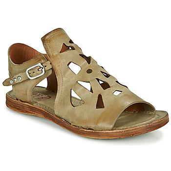 Zapatos Mujer Sandalias Airstep / A.S.98 RAMOS PERF Kaki
