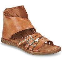 Zapatos Mujer Sandalias Airstep / A.S.98 RAMOS HIGH Camel