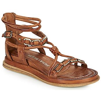 Zapatos Mujer Sandalias Airstep / A.S.98 POLA SQUARE Camel