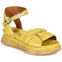 Zapatos Mujer Sandalias Airstep / A.S.98 LAGOS NODE Amarillo