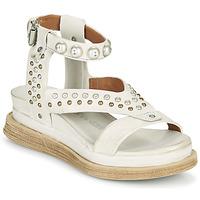 Zapatos Mujer Sandalias Airstep / A.S.98 LAGOS STUD Gris / Beige