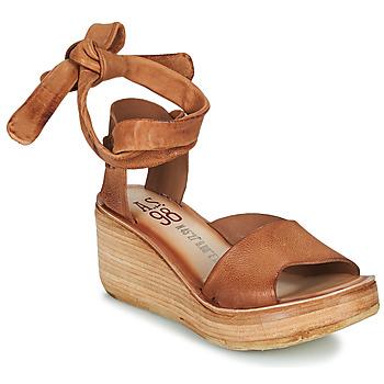 Zapatos Mujer Sandalias Airstep / A.S.98 NOA LACE Camel
