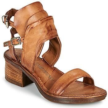 Zapatos Mujer Sandalias Airstep / A.S.98 KENYA BUCKLE Camel