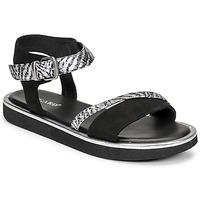 Zapatos Mujer Sandalias Regard ANGERS Negro
