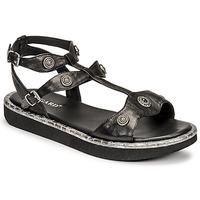 Zapatos Mujer Sandalias Regard ANGLET Negro