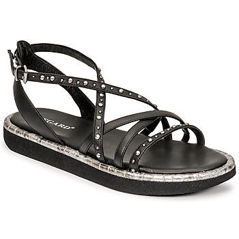 Zapatos Mujer Sandalias Regard ARLES Negro