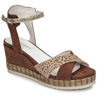 Zapatos Mujer Sandalias Regard DOUAI Marrón