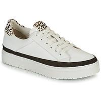 Zapatos Mujer Zapatillas bajas Regard HENIN Blanco / Negro