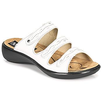 Zapatos Mujer Zuecos (Mules) Romika Westland IBIZA 66 Blanco