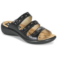 Zapatos Mujer Zuecos (Mules) Romika Westland IBIZA 66 Negro