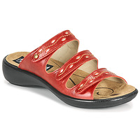 Zapatos Mujer Zuecos (Mules) Romika Westland IBIZA 66 Rojo