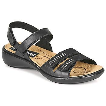 Zapatos Mujer Sandalias Romika Westland IBIZA 86 Negro