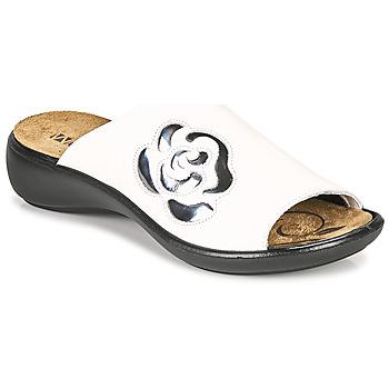 Zapatos Mujer Zuecos (Mules) Romika Westland IBIZA 117 Blanco