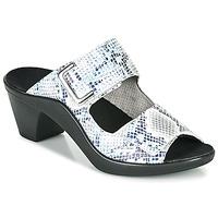Zapatos Mujer Zuecos (Mules) Romika Westland ST TROPEZ 353 Blanco