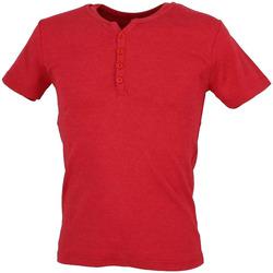 textil Hombre Camisetas manga corta La Maison Blaggio  Rojo