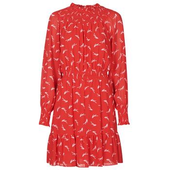 textil Mujer Vestidos cortos MICHAEL Michael Kors SIGNATRE LOGO SMCK DR Rojo