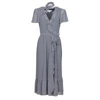 textil Mujer Vestidos largos MICHAEL Michael Kors MINI BICOLR 60S FLRL DRS Azul
