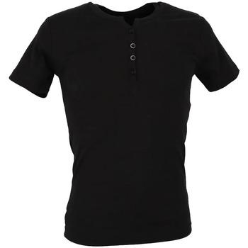 textil Hombre Camisetas manga corta La Maison Blaggio  Negro