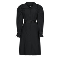 textil Mujer Trench Karl Lagerfeld DRAPEDTRENCHCOAT Negro