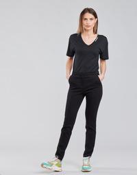 textil Mujer Pantalones con 5 bolsillos Karl Lagerfeld SUMMERPUNTOPANTS Negro