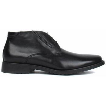 Zapatos Hombre Botas de caña baja Salamander Adam Flats Black