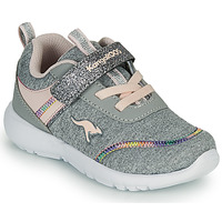 Zapatos Niña Zapatillas bajas Kangaroos KY-CHUMMY EV Gris / Rosa