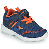 Zapatos Niño Zapatillas bajas Kangaroos KY-CHUMMY EV Azul / Naranja