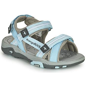 Zapatos Niños Sandalias Kangaroos K-LENI Azul / Gris