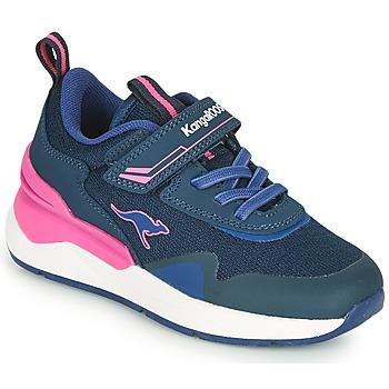 Zapatos Niña Zapatillas bajas Kangaroos KD-GYM EV Azul / Rosa