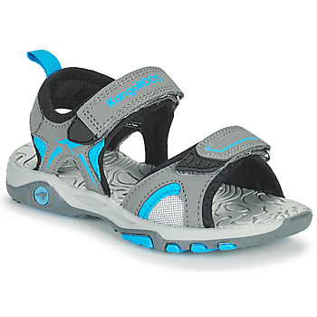 Zapatos Niños Sandalias Kangaroos K-MONT Gris / Azul
